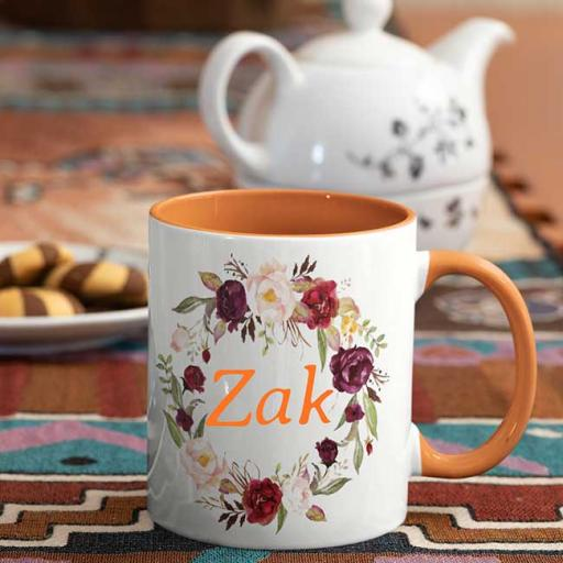Orange-Colour-inside-Flower-Wreath-Design-Personalised-Name-Mug.jpg