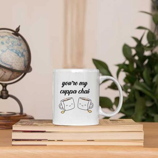 Personalised 'You're My Cuppa Chai' Mug for Chai/Tea Lovers