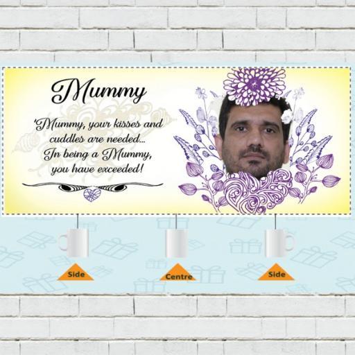Personalised Photo Upload Mug for Mothers