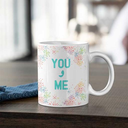 'You aur Me' Desi Style Personalised Mug
