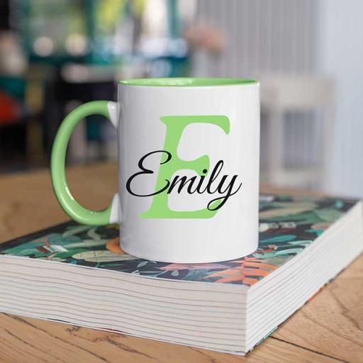 EInitIal-and-Name-Personalised-Green-Colour-inside-Mug.jpg