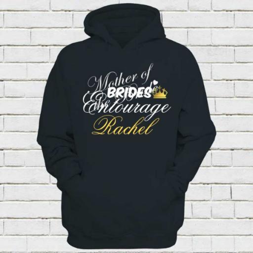 Personalised 'Mother of the Bride' Hoodie