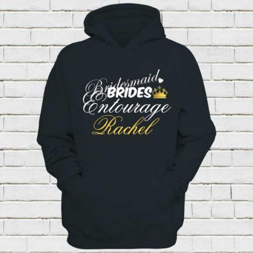 Personalised Bridesmaid Hoodie - Add Name