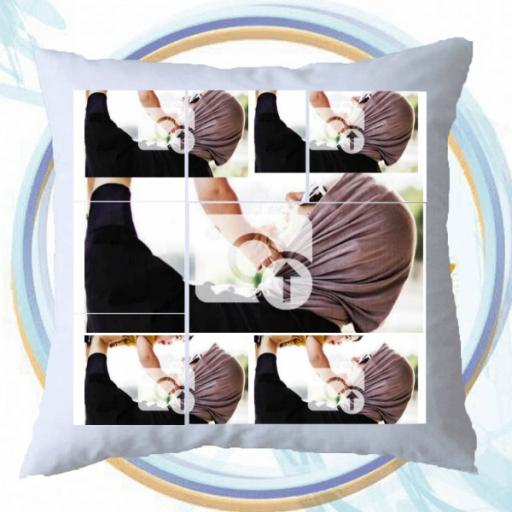6 Photos Collage Cushion - Personalised Gift