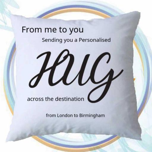 Send a Personalised Hug - Across the Destination