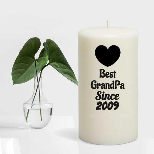 Best GrandMa Since YEAR - Candle Gift