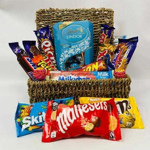 Retro Sweets Shop Hamper - with Personalised Card