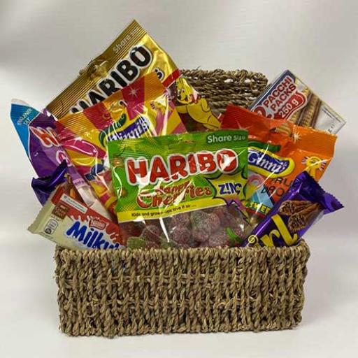 Retro Street Candy Shop Hamper - with Personalised Card
