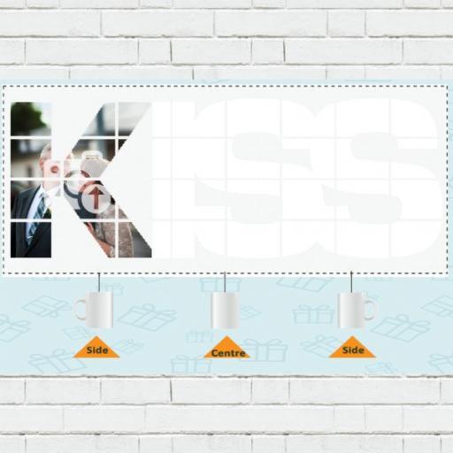 Personalised KISS Photo Mug - Add Photo