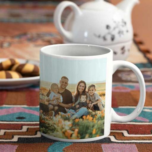 Personalised Mug Gifts 2 Photos Upload