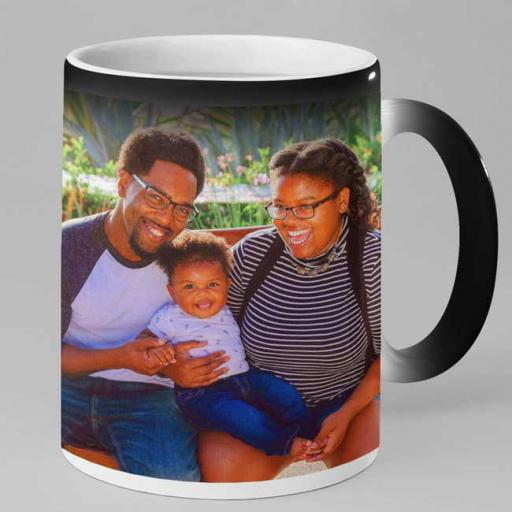 Personalised Magic Mug - Add Photo and Text