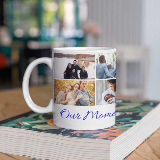 Personalised 'Our Moments Together' Photo Mug Gift